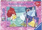 Ravensburger - Disney Princesses Adventure 3x49 Piece | Merchandise