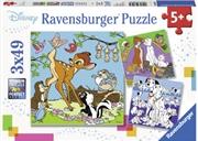 Ravensburger - Disney Friends Puzzle 3x49 Piece | Merchandise