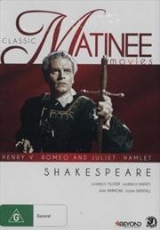 Classic Matinee Movies - Shakespeare | DVD