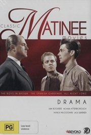 Classic Matinee Movies - Drama - Boys in Brown, The Spanish Gardener and All Night Long | DVD