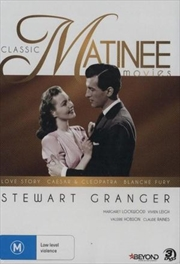 Classic Stewart Granger - Love Story, Caesar & Cleopatra and Blanche Fury | DVD