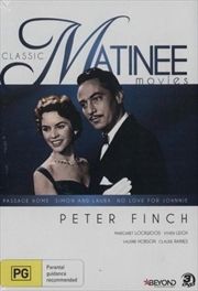 Classic Peter Finch - Passage Home, Simon & Laura and No Love for Johnnie | DVD