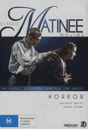 Classic Horror - Ghoul, Countess Dracula and The Shout | DVD