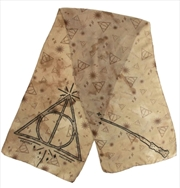 Harry Potter - Deathly Hallows Lightweight Scarf   Apparel