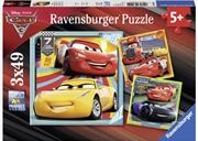 Ravensburger - Disney Cars 3 Collection 3x49 Piece Puzzle | Merchandise