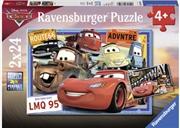 Ravensburger - Disney Two Cars Puzzle 2x24 Piece | Merchandise