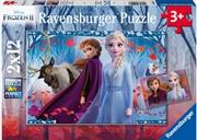Frozen 2 Journey To The Unknown 2x12 Piece Puzzle | Merchandise