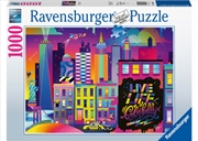 Live Life Colorfully, NYC 1000pc | Merchandise