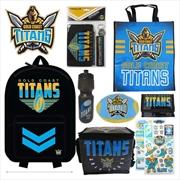 NRL Gold Coast Titans Showbag | Merchandise