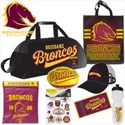 NRL Brisbane Broncos Showbag V1 | Merchandise