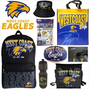 AFL West Coast Eagles Showbag V2 | Merchandise