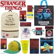 Stranger Things Showbag | Merchandise