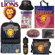 AFL Brisbane Lions Showbag | Merchandise