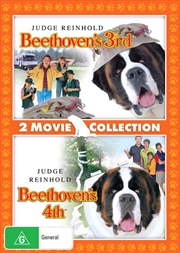 Beethoven's 3rd / Beethoven's 4th   Double Pack   DVD