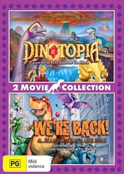 Dinotopia - Quest For The Ruby Sunstone / We're Back - A Dinosaur Story   DVD