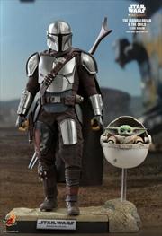 "Star Wars: The Mandalorian - Mandalorian & The Child Deluxe 1:6 Scale 12"" Action Figure | Merchandise"
