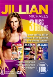 Jillian Michaels - Deluxe - Vol 4 - Beginner Shred / One Week Shred / Hard Body | DVD