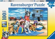 Ravensburger - No Dogs on the Beach Puzzle 100 Piece    | Merchandise