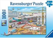 Ravensburger - Airport Construction Site 100pc | Merchandise