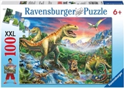 Ravensburger - Time of the Dinosaurs Puzzle 100 Piece    | Merchandise