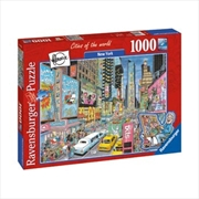 Ravensburger New York Puzzle 1000pc | Merchandise