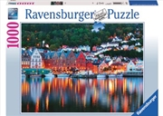 Ravensburger - Bergen Norwegian Puzzle 1000pc   Merchandise