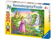 Ravensburger - Princess with Horse Puzzle 200 Piece | Merchandise