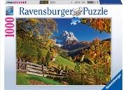 Ravensburger - Mountainous Italy Puzzle 1000pc | Merchandise