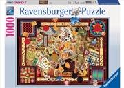 Ravensburger - Vintage Games Puzzle 1000pc | Merchandise