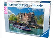 Ravensburger - Canal Tour in Amsterdam Puzzle 1000pc | Merchandise