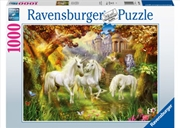 Unicorns In The Forest 1000 Piece Puzzle | Merchandise