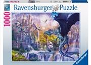 Ravensburger - Dragon Castle Puzzle 1000pc | Merchandise