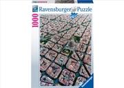 Ravensburger - Barcelona von Oben Puzzle 1000 Piece    | Merchandise