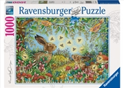 Ravensburger - Nocturnal Forest Magic Puzzle 1000pc | Merchandise