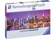 Ravensburger - Manhattan Lights Puzzle 1000 Piece    | Merchandise