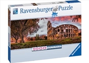 Ravensburger - Sunset Colosseum Puzzle 1000pc | Merchandise