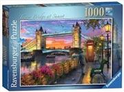 Tower Bridge At Sunset 1000pc | Merchandise