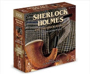 Sherlock Holmes With Book - 1000pc | Merchandise