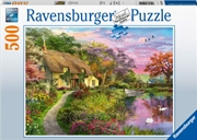 Country House 500 Piece Puzzle | Merchandise