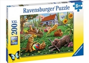 Playing In The Yard 200 Piece Puzzle | Merchandise