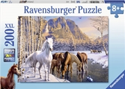 Winter Horses 200 Piece Puzzle | Merchandise