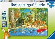 Woodland Friends 200 Piece Puzzle | Merchandise