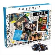 Friends - Scrapbook 1000pc Puzzle | Merchandise