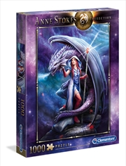 Anne Stokes - Dragon Mage 1000 Piece Puzzle | Merchandise