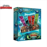 Floor Puzzle Boxed - How To Train Your Dragon 3 | Merchandise