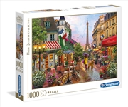 Flowers In Paris 1000 Piece Puzzle | Merchandise