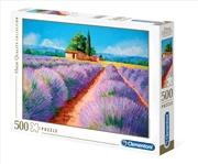 Lavender Scent 500 Piece Puzzle | Merchandise