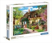 Old Cottage 1000 Piece Puzzle | Merchandise
