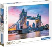 Tower Bridge Sunset 1500 Piece Puzzle | Merchandise