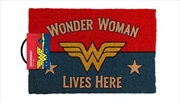DC Comics - Wonder Woman Lives Here | Merchandise